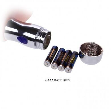 Фаллоимитатор с вибрацией+светодиоды