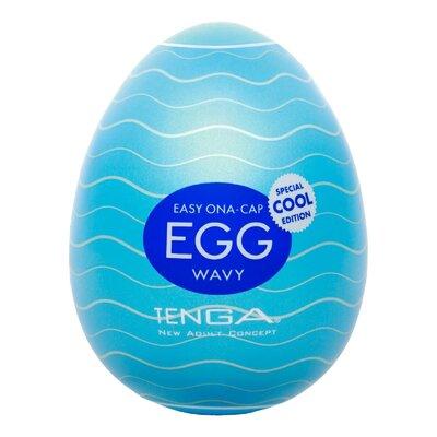 Мастурбатор яйцо Tenga Egg Cool с охлаждающим эффектом (ОРИГИНАЛ)