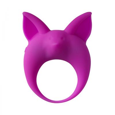 Виброкольцо эрекционное фиолетовое Mimi Animals Kitten Kyle