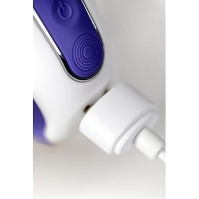 Вибратор Satisfyer Magic Bunny для точки G с клиторальным отростком, фиолетовый