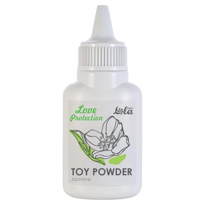 Пудра для игрушек Love Protection с ароматом жасмина (15 г)