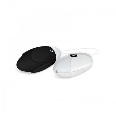 Черное виброяйцо с беспроводным пультом Ijoy Remote Control Egg