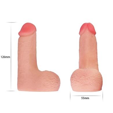 Фаллос для ношения Skinlike Limpy Cock 5 In