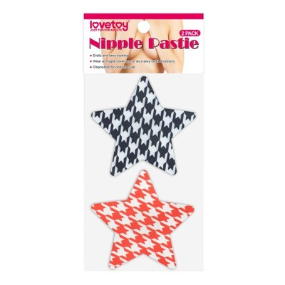 Набор пэстисов для груди в форме звезд Stars Nipple Pasties