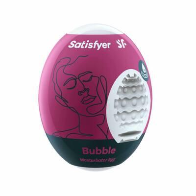 Мастурбатор-яйцо Satisfyer Masturbator Eggs Bubble