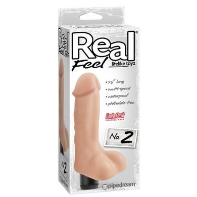 Вибратор-реалистик Real Feel №2