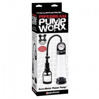 Вакуумная помпа с манометром Pump Worx Accu-Meter Power Pump