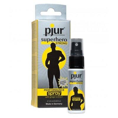 Спрей-пролонгатор pjur Superhero Strong Spray (20 мл)