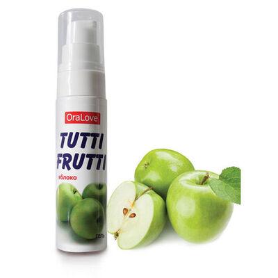 Оральный гель Tutti-frutti яблоко 30 гр
