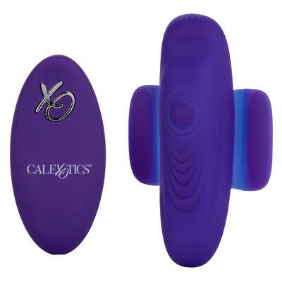 Перезаряжаемый клиторальный вибратор в трусики с дистанционным пультом управления Lock-N-Play Remote Pulsating Panty Teaser