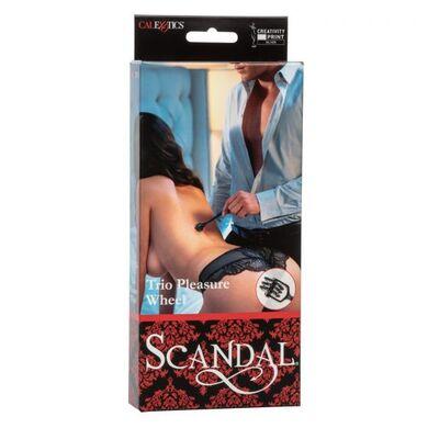 Колесо вартенберга черное Scandal Trio Pleasure Wheel