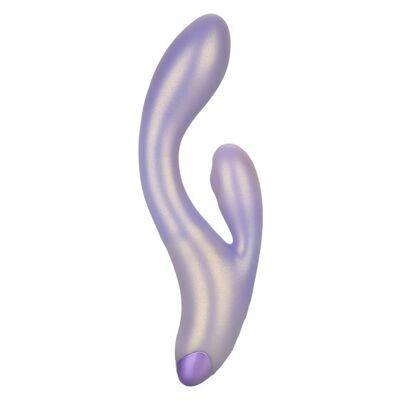 """Перезаряжаемый фиолетовый вибратор-кролик с функцией """"пульсирующее воздействие"""" G-Love Gthumper"""