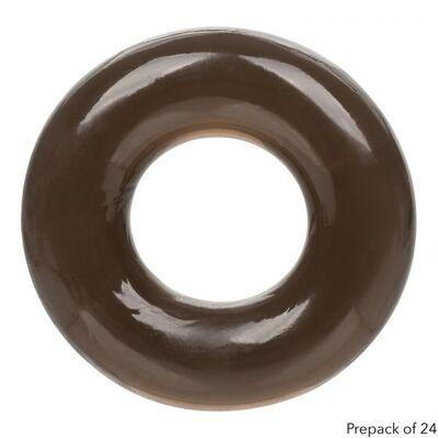 Эрекционное кольцо черное Foil Pack X-Large Ring