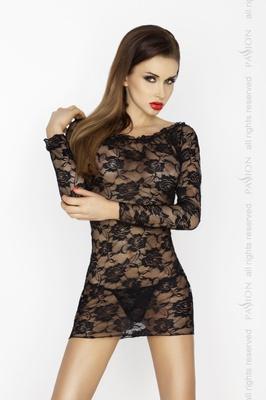Черная сорочка Yolanda L/XL