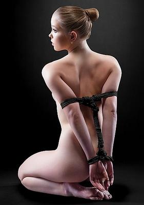 Веревка для шибари Japanese Rope Ouch! 5 метров черная