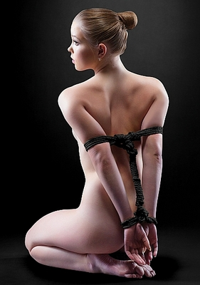 Веревка для шибари Japanese Rope Ouch! 5 метров, черная