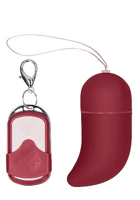 Виброяйцо красное для стимуляции G-точки с пультом управления Small Wireless Vibrating G-Spot Egg