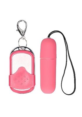 Вибропуля розовая с пультом дистанционного управления Remote Vibrating Bullet