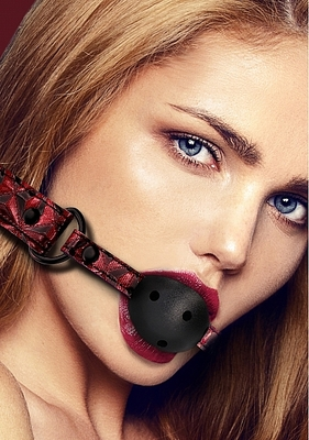 Кляп-шарик Luxury Breathable Ball Gag красный