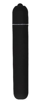 Вибропуля чёрная Bullet Vibrator Extra Long