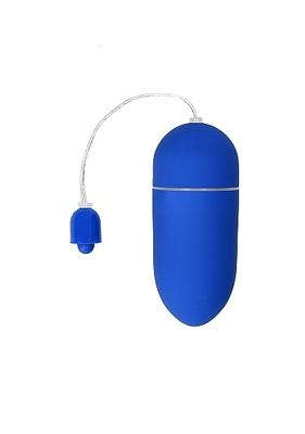 Виброяйцо голубое Vibrating Egg