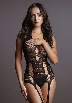 Боди-комбинезон Lace Suspender Bodystocking