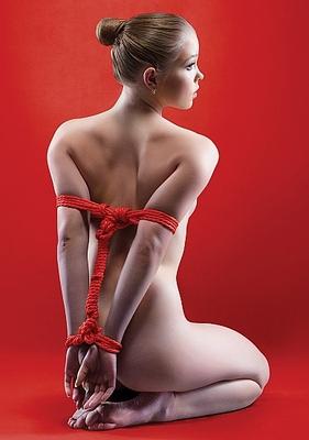 Веревка Japanese Rope 10 метров красная