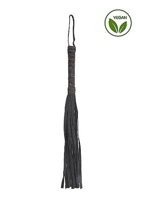 Джинсовая плеть чёрная Roughend Denim Style