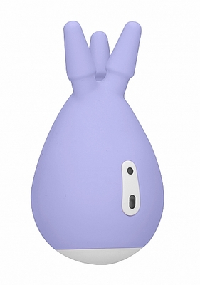 Перезаряжаемый клиторальный стимулятор Luscious нежно-фиолетовый