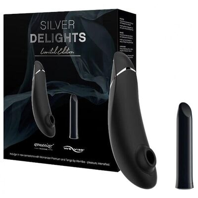 Набор Silver Delights Womanizer Premium + We-Vibe Tango